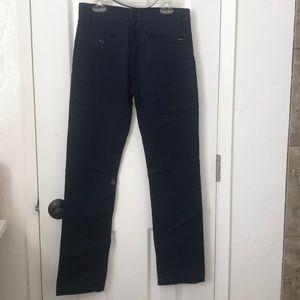 Dark blue volcom boys pants . $8